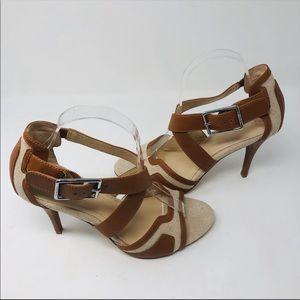 Calvin Klein High Heels Adjustable Straps Sz 8.5 M